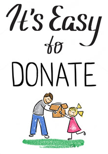 Donate clipart